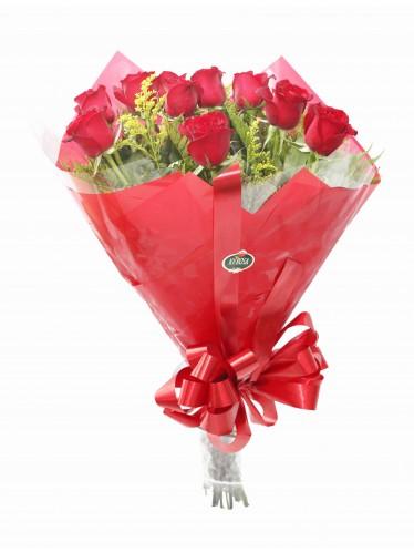Bouquet Dúzia de Rosas Nacionais