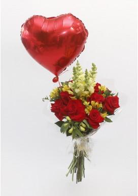 Bouquet Luxuoso + Balão