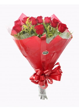 Bouquet 12 Rosas Importadas Red