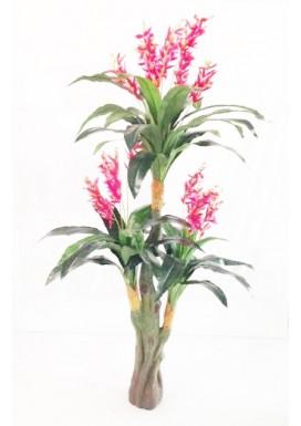 Planta Artificial Elicônea Vermelha