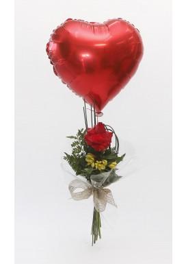 One Rose e Balão