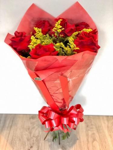 Bouquet Meia Dúzia de Rosas Importadas