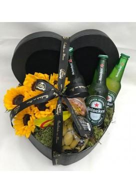 Box Girassol + Heineken