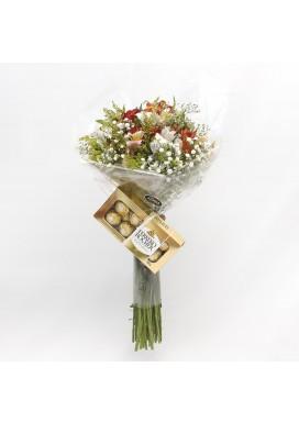 Topiaria Flores do Campo Ferrero Rocher