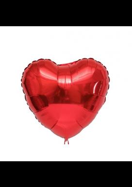 Balão Coração Gás Hélio