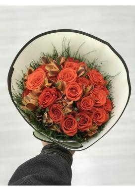 Topiária Rosas Corais