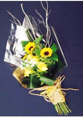 Ramalhete Amarelo Girassol