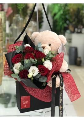 Box Flores + Urso