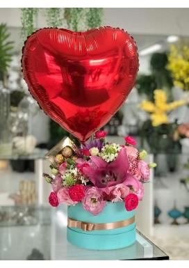 Box Flores Paixão
